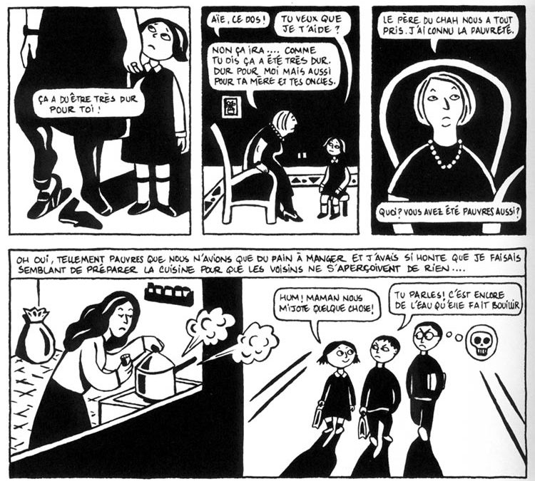 Persepolis, an unusual book and film