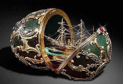 Les oeufs Fabergé
