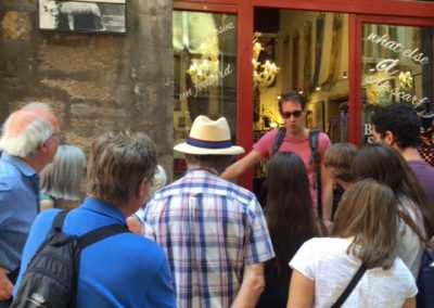 Guided tour in Lyon for Students learning French with Alliance Française de Bristol et Bath