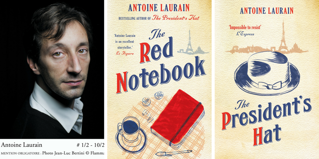 Rencontre avec Antoine Laurain