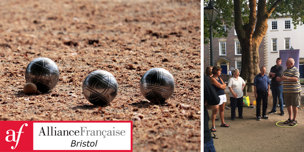 Join us for a free game of Pétanque or Boules