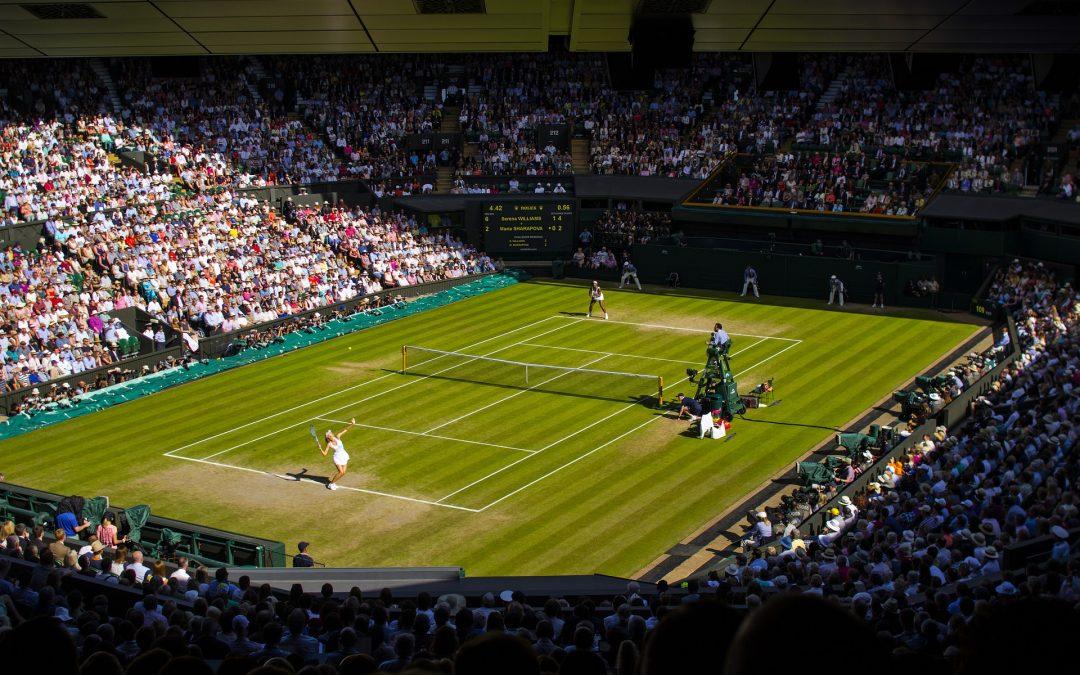 Le tennis à Wimbledon